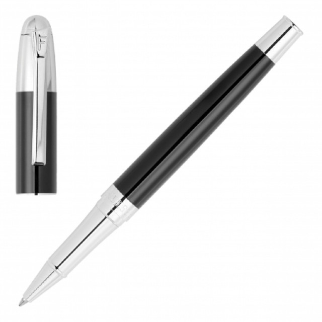 Penna Rollerball Classicals Chrome Black