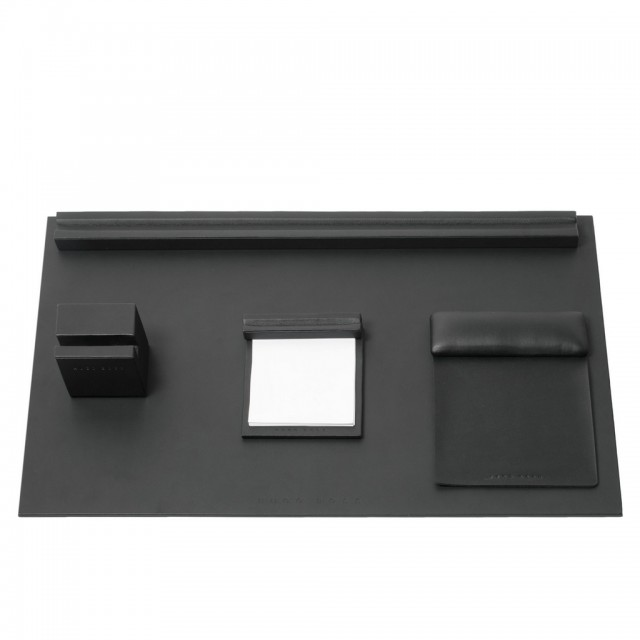 Desk set Stripe Soft Black