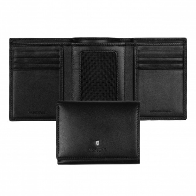 Card holder trifold Classicals Black