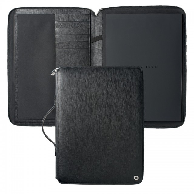 Conference folder A4 Tradition Black