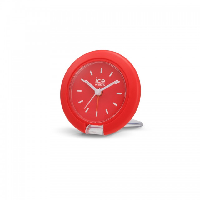Travel clock-IW-Red-7,5cm