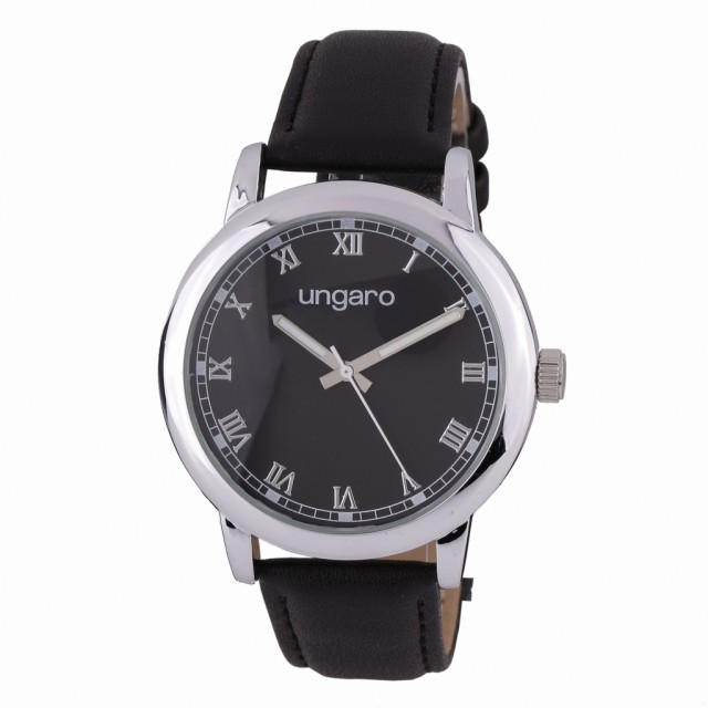 Orologio Primo Leather Black