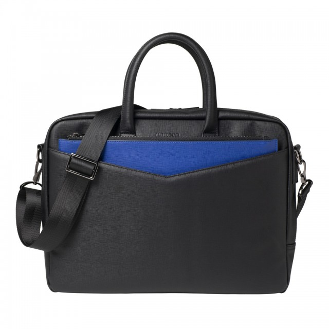 Borsa Documento Cosmo Blue